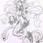 mermaid_coloring_designed_by_xotakumix