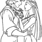 lovely-pocahontas-coloring-pages-for-adults