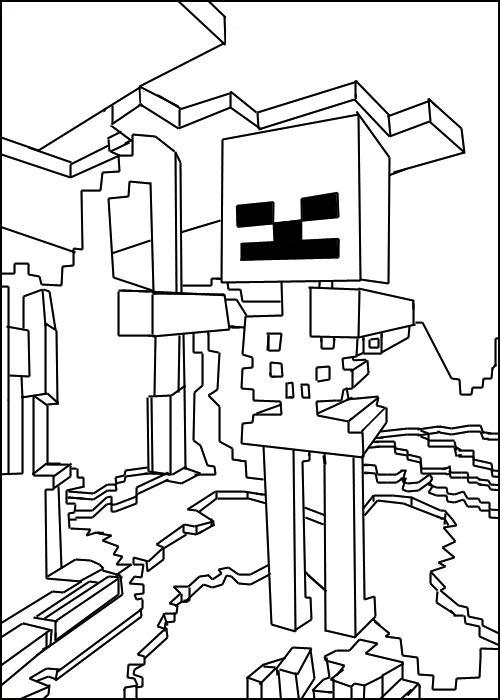 Minecraft Clip Art 500x700