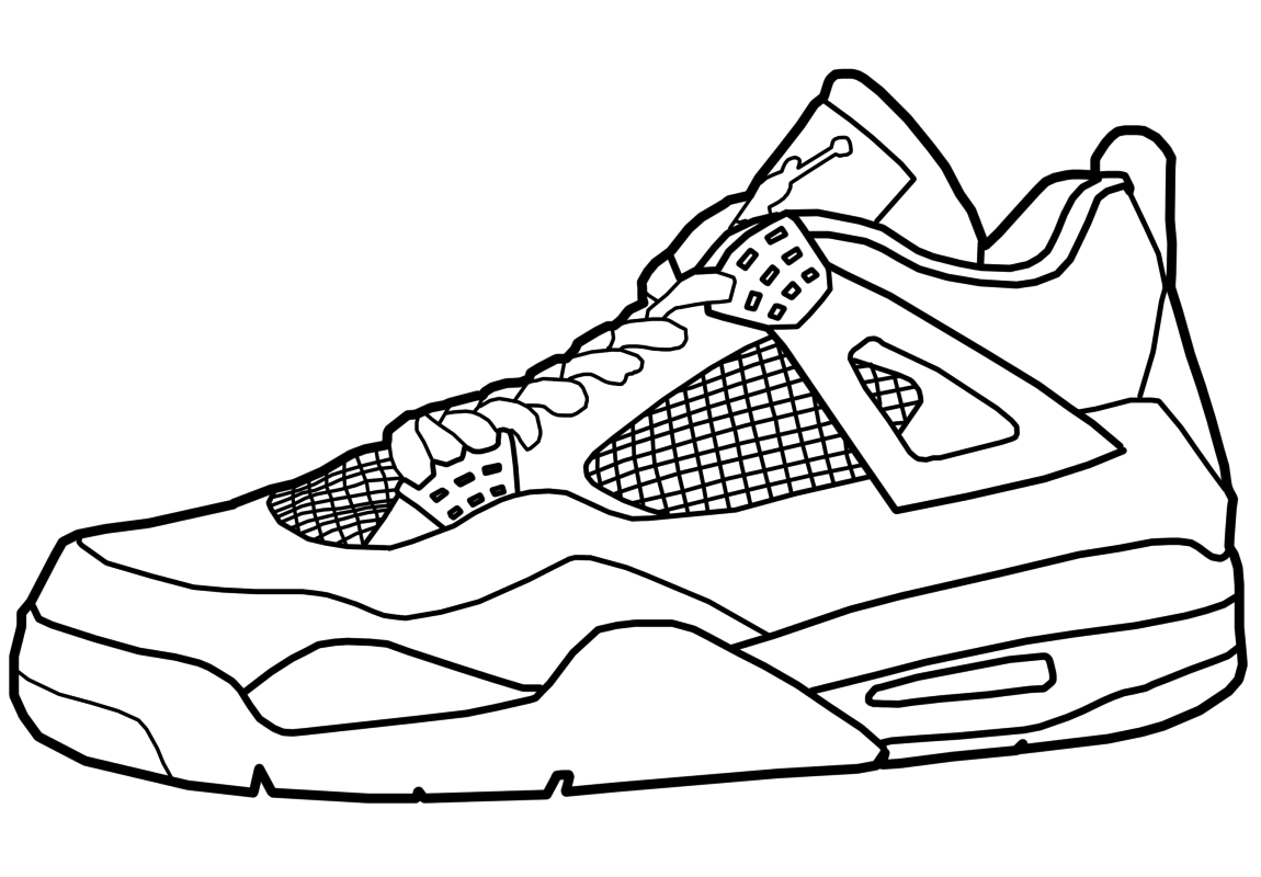 Air Jordan 23 Coloring Pages