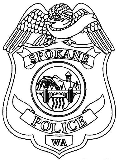 spokane-police-badge-coloring-page
