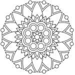 sunflower-mandala-drawing