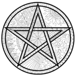 wiccan-mandala-coloring-book-to-print