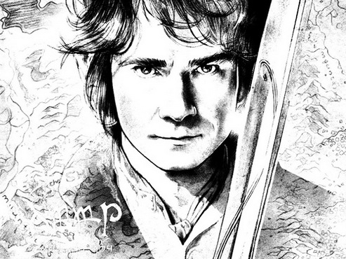 Bilbo Baggins Coloring Pages To Drawing