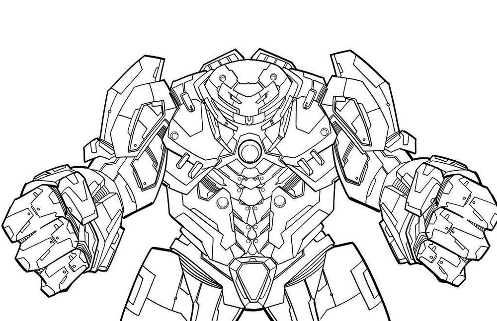 hulk coloring pages free - hulkbuster coloring pages murderthestout