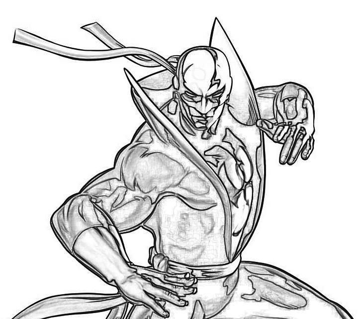 Iron Fist Coloring Pages Printable Cover Book