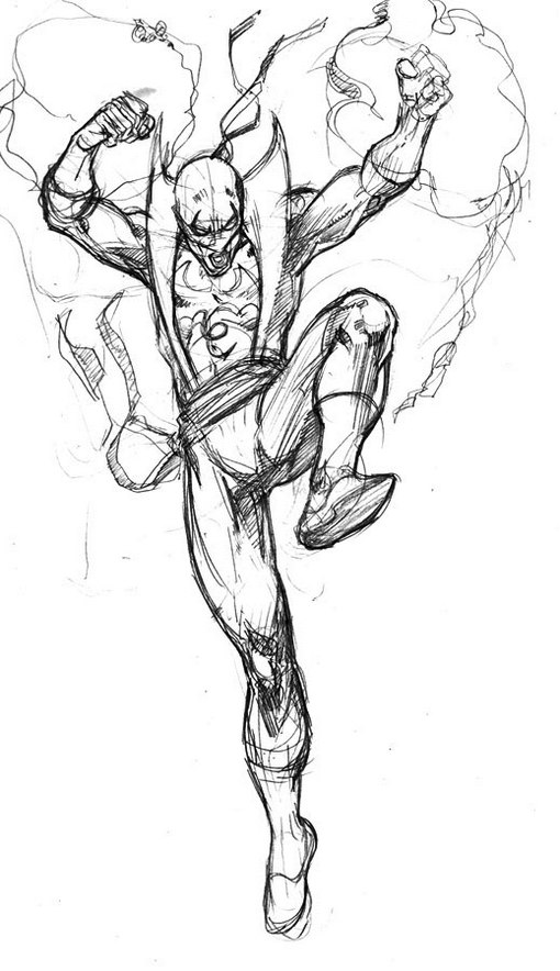 Iron Fist Drawing How To Draw