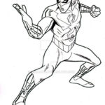 Iron Fist Superhero Powerful Coloring Page