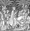 Palm Sunday Coloring Pages to Invite Kids to the Church for Easter