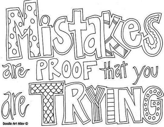Best Quotes Coloring Pages