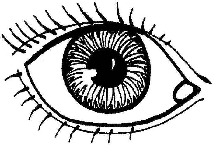 Eye Coloring Pages To Print