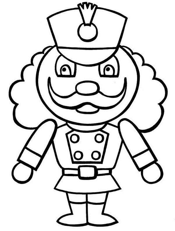 Lego Nutcracker Christmas Coloring Pages