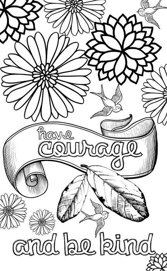 Quotes To Motivate Coloring Pages