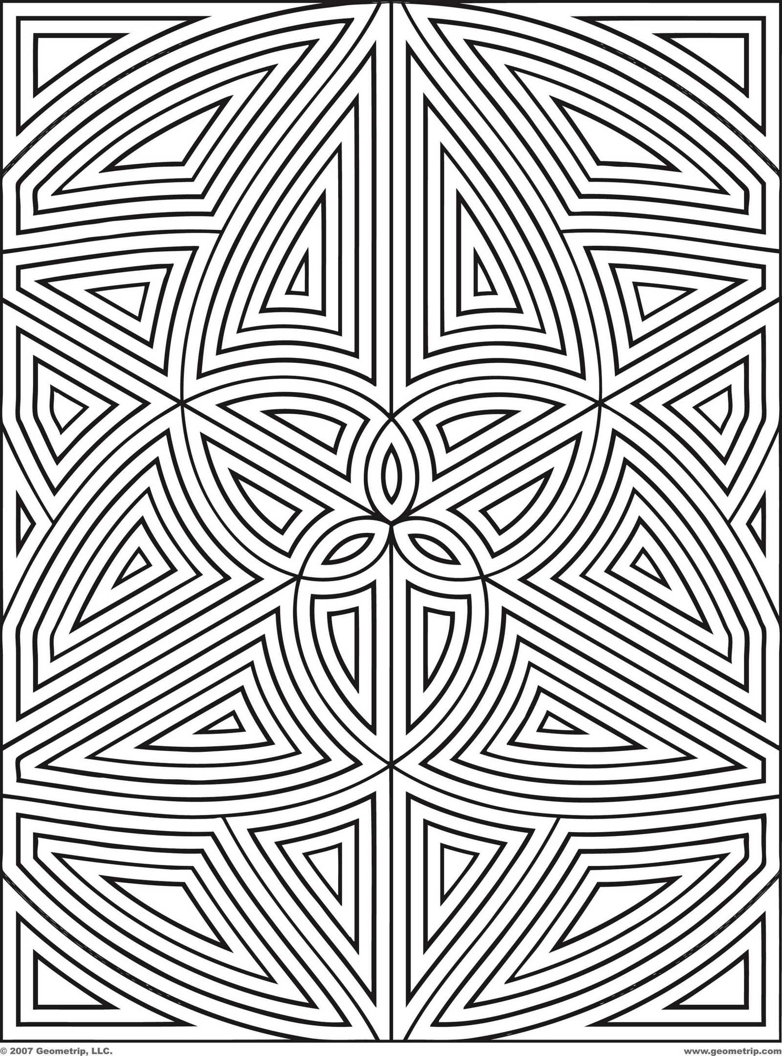 Geometric Coloring And Drawing