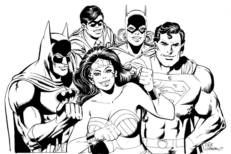 Justice League Dc Movies Coloring And Activity Page