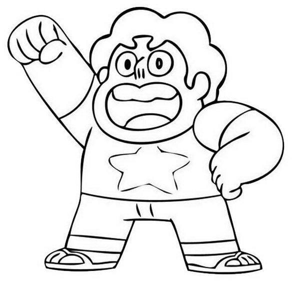 Steven Universe Coloring Page To Print