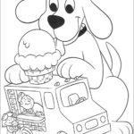 clifford the big red dog skecth drawing sheet