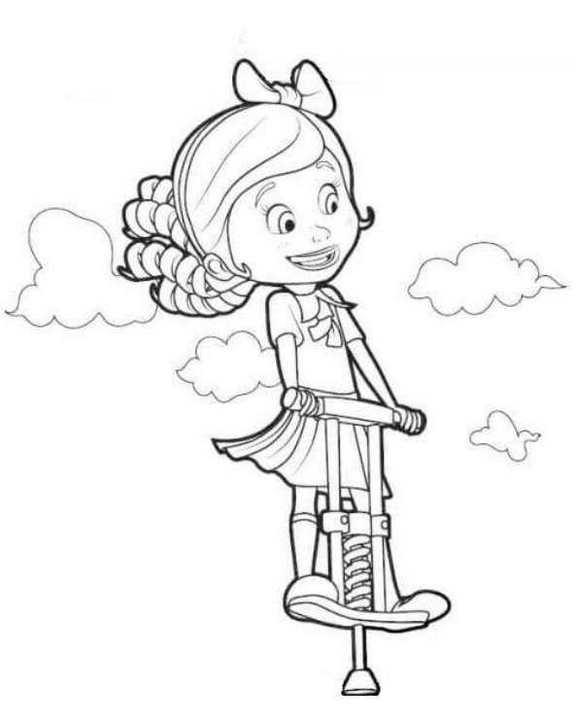 Princess Goldie Coloring Sheet