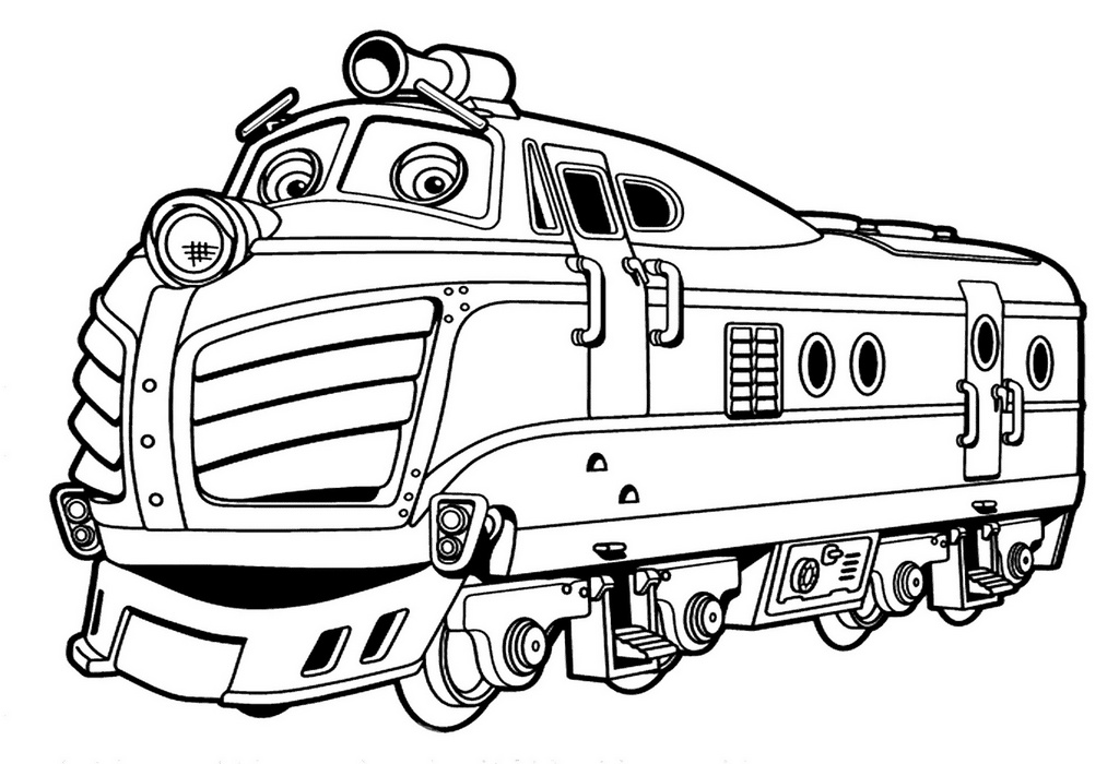 Zack from chuggington coloring sheets