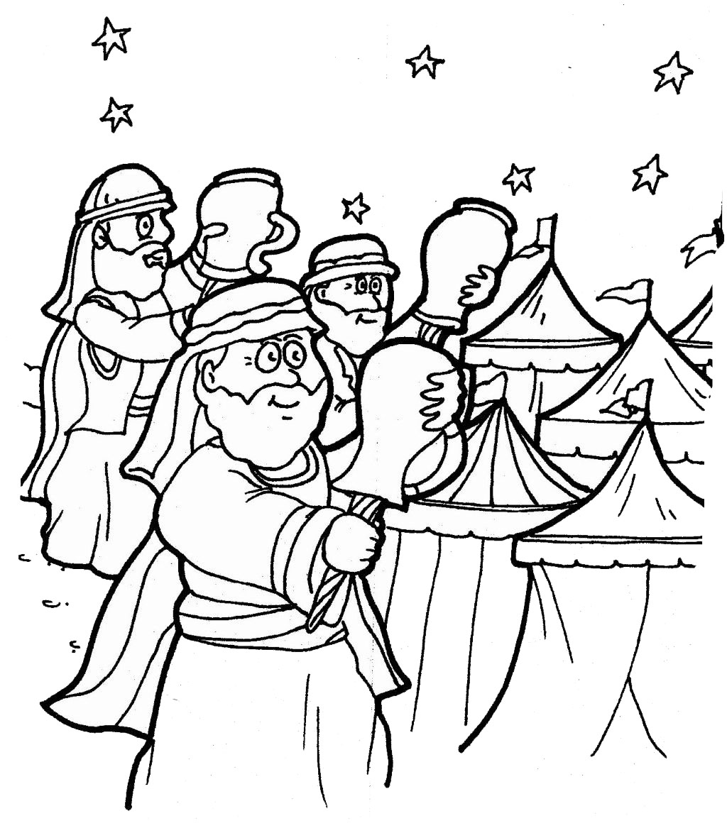 a member of Gideons International Coloring Page