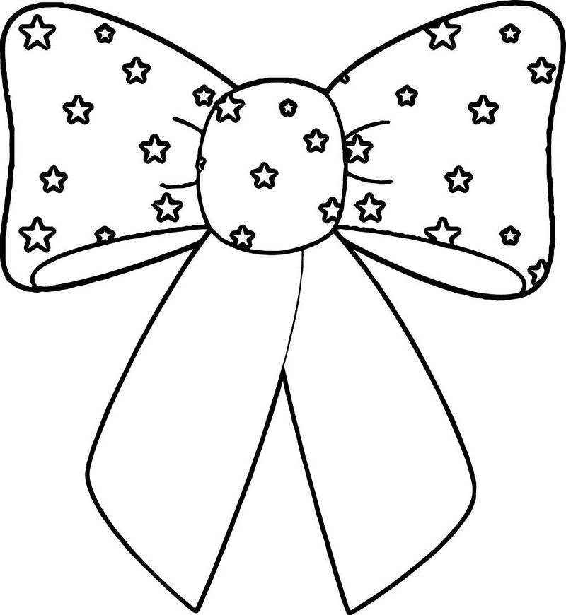 bow tie coloring page printable