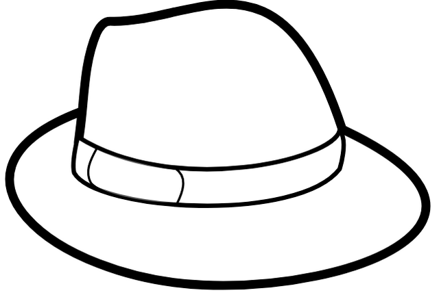 Best Hat coloring picture
