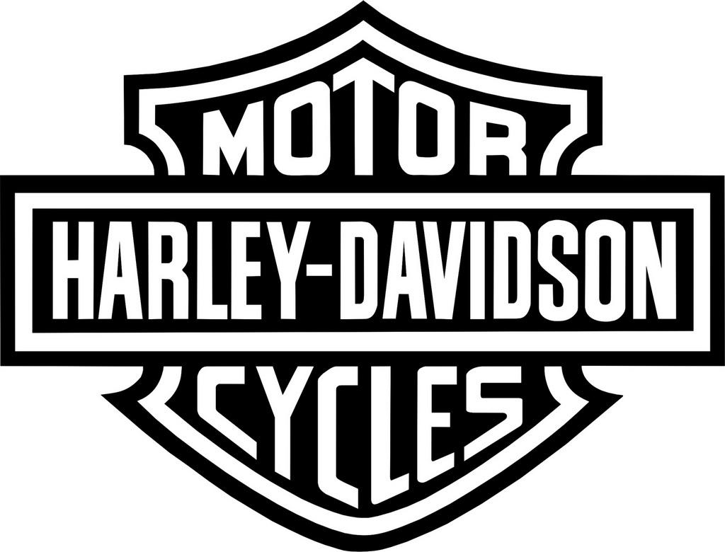 Harley Davidson Logo Clipart Drawing Page