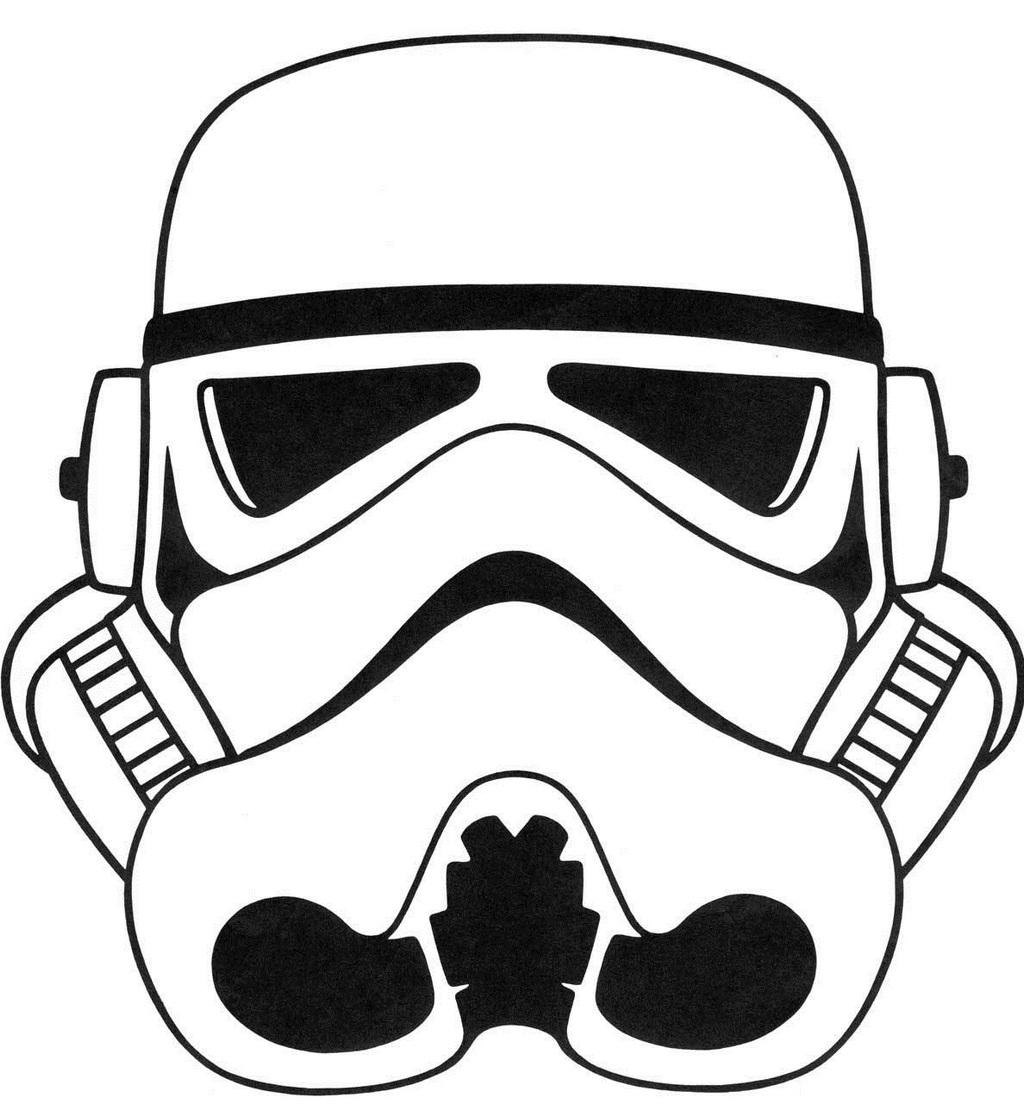 best stormtrooper helmet coloring sheet