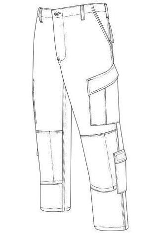 epic men pants coloring and drawing sheet design