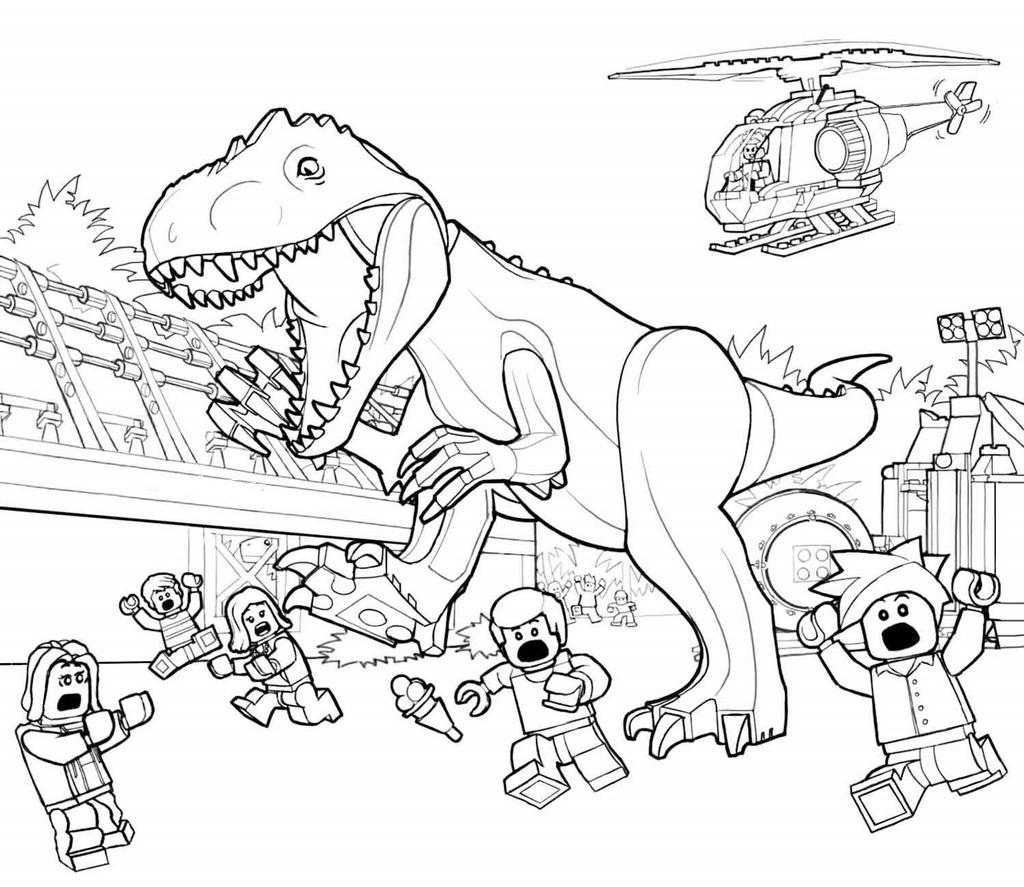 lego indominus rex coloring printable sheet