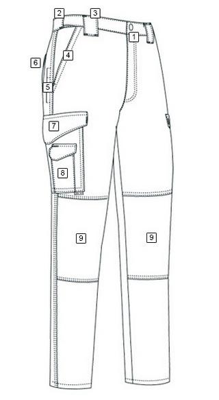 mens pants coloring picture design