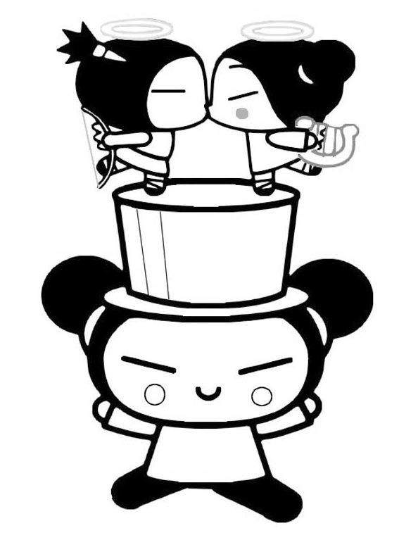 Stunning Pucca Coloring Pictures