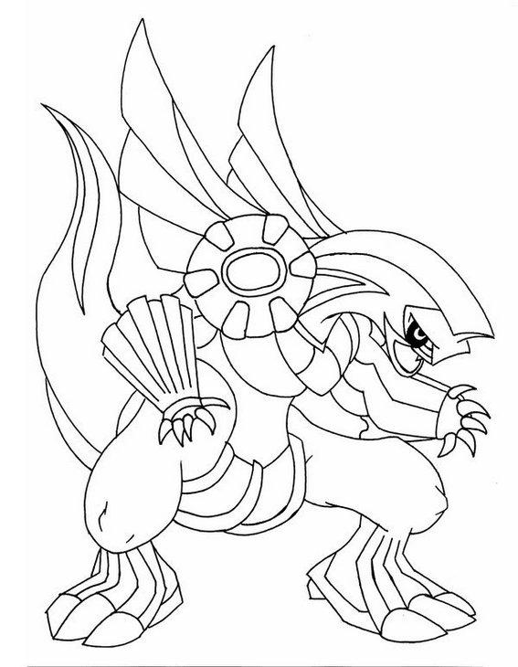 Top Palkia Pokemon Coloring Page