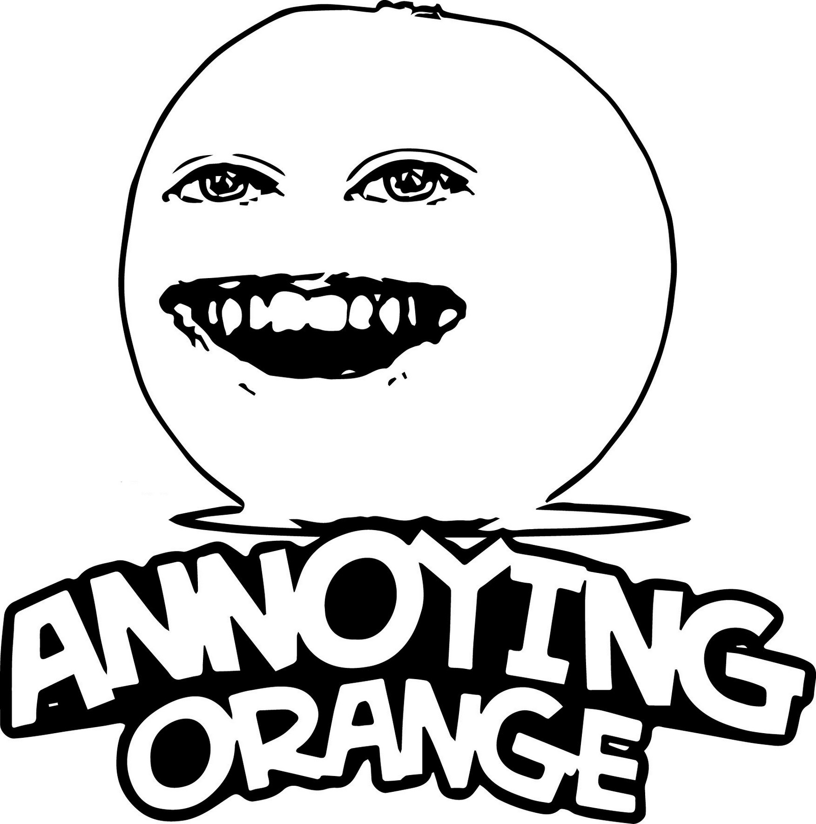 best annoying orange coloring sheets