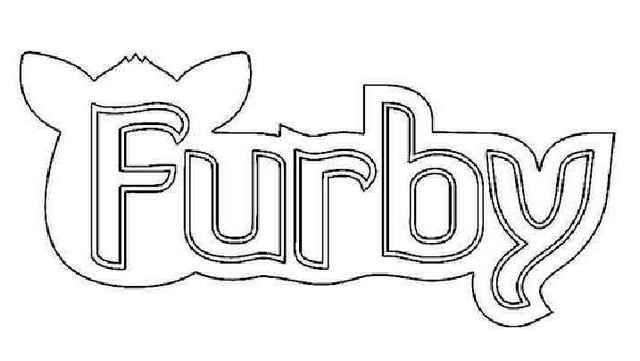 furby logo coloring pages
