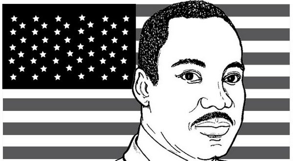 martin luther king jr facts coloring page
