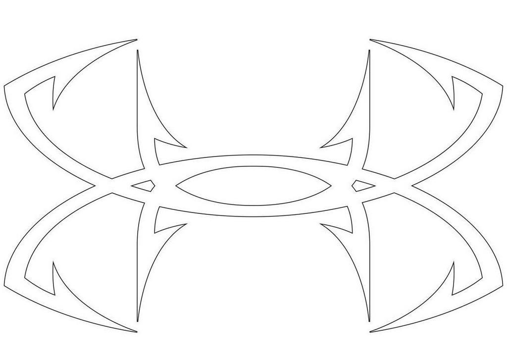 under armour logo coloring pages