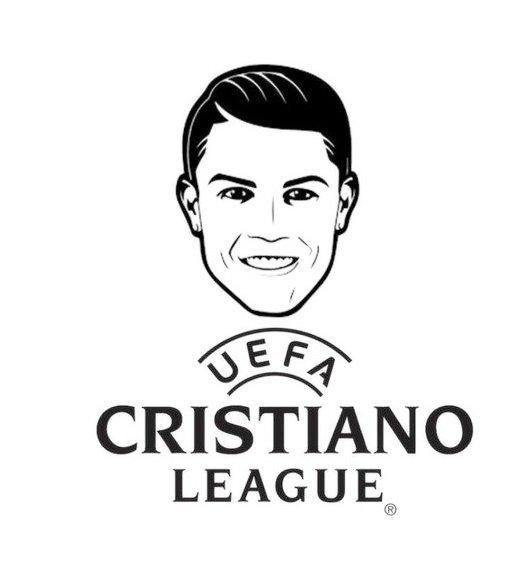 Cristiano Ronaldo UEFA League Coloring Page