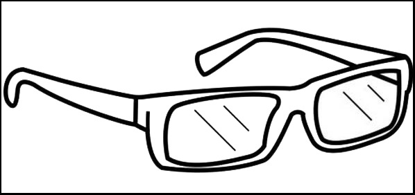 best glasses coloring pages for kids
