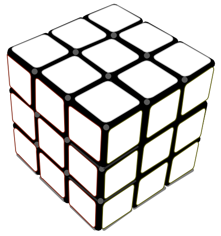 rubiks cube coloring and activity page