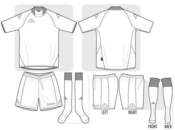 Kappa Footbal Kit Colouring Page