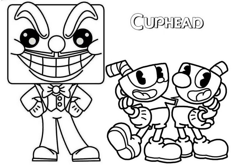 photograph regarding Cuphead Coloring Pages Printable identified as Index of /wp-joyful/uploads/2018/10/