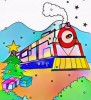 Six Awesome Polar Express Coloring Pages for Children