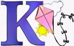 K Coloring Pages to Teach Kids Write Alphabet Better
