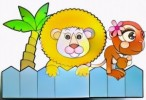 Six Beautiful Zoo Coloring Pages for Children