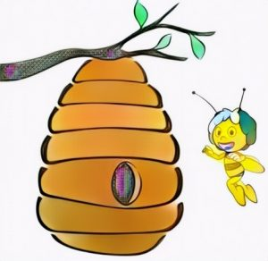 Beehive Coloring Work from Desta