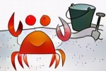 Twelve Cute Crab Coloring Pages for Kids