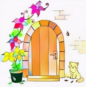 Door Coloring Work from Ainun