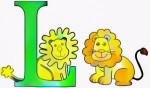 6 Simple Letter L Coloring Pages for Children's Learning Materials
