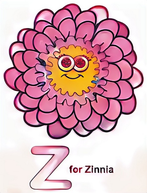Letter Z Coloring Work from Putri